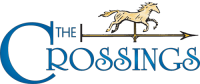 Logo for The Crossings Apartments, Michigan